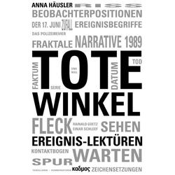 Tote Winkel als Buch von Anna Häusler