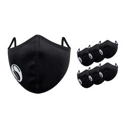 Mund-Nasen-Masken, wiederverwendbar, 6er Pack