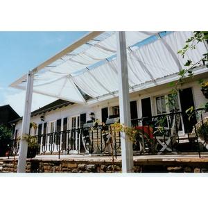 FLORACORD Sonnensegel Bausatz Universal, BxL: 330x140 cm, weiß weiß
