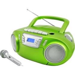 Soundmaster CD-Player grün