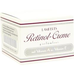 Retinol Creme parfümfrei Lamperts