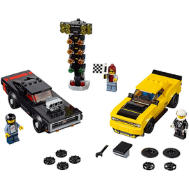 Lego Speed Champions 2018 Dodge Challenger SRT Demon und 1970 Dodge Charger R/T 75893