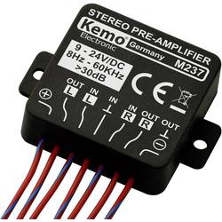 Kemo M237 Stereo-Vorverstärker 24 V/DC