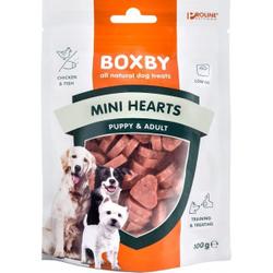 Boxby Mini-Herzen für Welpen und kleine Hunde 2 Stück