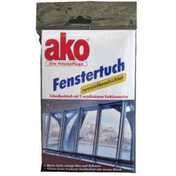 ako® Fenstertuch, Schnellputztuch mit zwei Funktionsseiten, 1 Packung = 1 Fenstertuch
