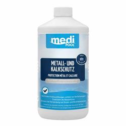 mediPOOL Metall- & Kalk Schutz 1L Härtestabilisator Kalkstabilisator Poolpflege