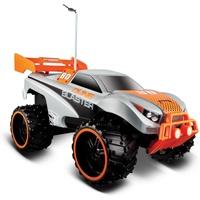 """Maisto Tech Spielzeug-Auto Ferngesteuertes Auto """"Off Road Dune Blaster"""" (orange/grau), Geschwindigkeit: ca. 9,0 km/h silberfarben"""