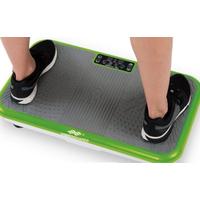 VibroShaper™ Vibrationsplatte mit Trainingsbändern grau/grün