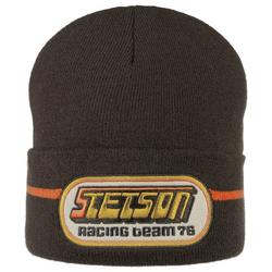 Stetson Racing Beanie - brown
