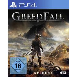 GreedFall PS4 USK: 16