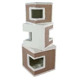 Trixie Katzenturm Cat Tower Lilo, 123 cm, weiß
