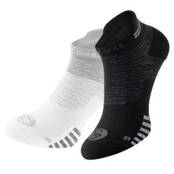 2 Paar STARK SOUL® Sport-Sneaker, kurze Sportsocken