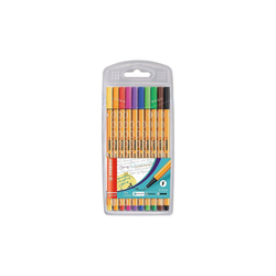 STABILO Fineliner Fineliner point 88, 10 Farben