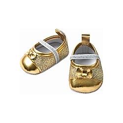 Glitzerballerinas  gold  Gr. 38-45 cm
