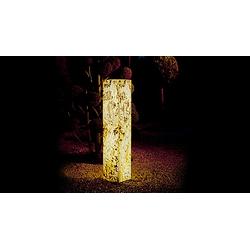 Epstein Design Stehleuchte Schiefersaeule G13 20x20x130 cm 15079