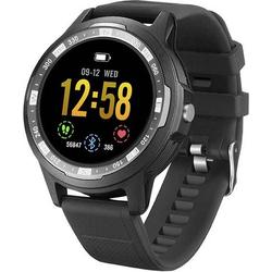 Technaxx TX-SW3HR Smartwatch Uni Schwarz