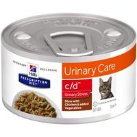 Hill's Hills Prescription Diet Feline c/d Urinary Stress Ragout mit Huhn & zu
