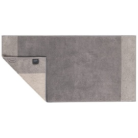 CAWÖ Luxury Home Two-Tone 590 Duschtuch 80 x 150 cm graphit