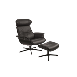 Conform Relaxsessel Timeout in schwarz