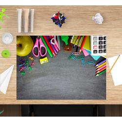 cover-your-desk.de Schreibtischaufsatz Schreibtischunterlage für Kinder – Schreibtischmaterial – 60 x 40 cm – aus hochwertigem Vinyl, (1-St)