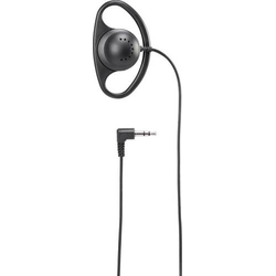 Basetech HK-1S On Ear Kopfhörer On Ear Ohrbügel, Mono Schwarz