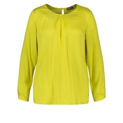Bluse aus fließender Viskose Samoon Blazing Yellow