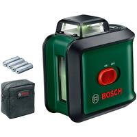 Bosch Home and Garden UniversalLevel 360 Set TT150 Kreuzlinienlaser inkl. Stativ, inkl. Tasche, selb