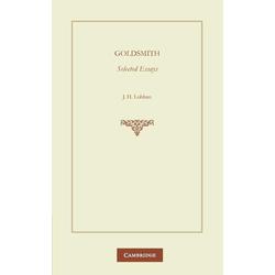 Goldsmith als Taschenbuch von O. Goldsmith/ Goldsmith O
