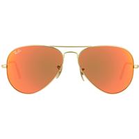 Ray Ban Aviator Flash Lenses RB3025 58mm gold / orange flash