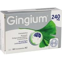 Hexal Gingium 240 mg Filmtabletten 60 St.