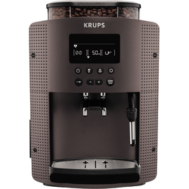 Krups Essential Display EA815P platinum/schwarz