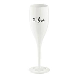 KOZIOL Sektglas Cheers No.1 Love 2.0