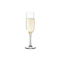 LEONARDO Sektglas Leonardo CIAO+ Sektglas 190 ml, Glas