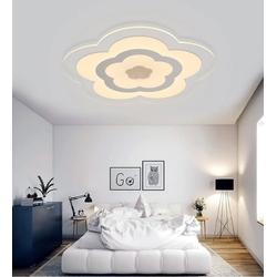 Natsen Deckenleuchte, 25W LED Deckenlampe ultra-dünn nicht dimmbar Warmweiß ultraflach 6820