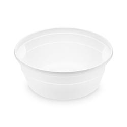 Suppenbecher weiß 350 ml, PP, Ø 12,7 cm, 50 Stk.