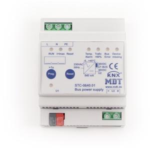 MDT STC-0640.01 Busspannungsversorgung mit Diagnosefunktion, 4TE REG, ...