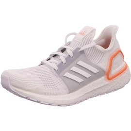 adidas Ultraboost 19 white/ white-orange, 42