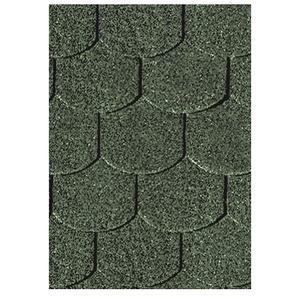 Karibu Dachschindeln Biberschw anz  dunkelgrün, 3 qm