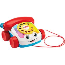 FISHER PRICE Plappertelefon, Nachzieh-Spielzeug, Nachziehtier Baby Spielzeug-Telefon Mehrfarbig