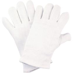 NITRAS Baumwoll-Trikot-Handschuhe, Hochwertige Schutzhandschuhe ideal für Handwerker, 1 Paar, Größe: 11