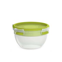 Emsa Salatbox Salatbox mit Einsätzen Clip Go, Kunststoff, (5-tlg) grün