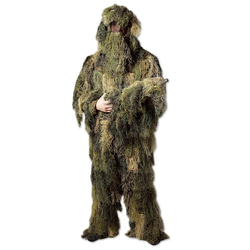Mil-Tec Ghillie Suit Anti Fire woodland, Größe II/M-L
