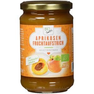 Biogustí Aprikosen Fruchtaufstrich, 6er Pack (6 x 330 g)