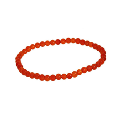 Adelia´s Armband Karneol Armband rot, Karneol rot 19 cm