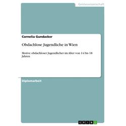 Obdachlose Jugendliche in Wien als Buch von Cornelia Gundacker