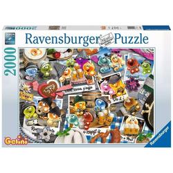 Ravensburger Puzzle Gelini auf dem Oktoberfest, 1000 Puzzleteile