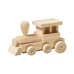 prohobb Holzbaukasten Modellbausatz Holz Eisenbahn