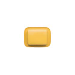 Thomas Porzellan Butterdose Sunny Day Yellow Butterdose 250 gr., Porzellan, (2-tlg)
