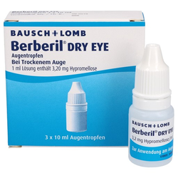 BERBERIL Dry Eye Augentropfen 3X10 ml