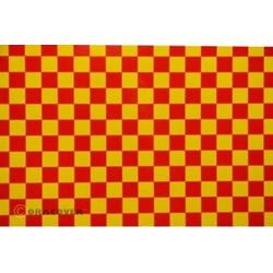 Oracover 48-033-023-010 Klebefolie Orastick Fun 4 (L x B) 10m x 60cm Gelb, Rot